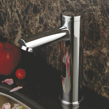Beelee BL0135 New Durable Solid Brass Bathroom Basin Faucet Automatic Sensor Faucet Mixer Tap Sink Water Tap(China)