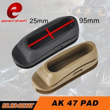 Element Airsoft AK 47 Stock Pad Butt Shockproof Rubber For Airsoft Gun Accessories OT0401(China)