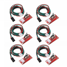 6pcs/set Endstop Mechanical Limit Switch + Cable For 3D Printer RAMPS 1.4