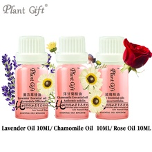 Free Shopping 100%pure French Lavender / Chamomile / Rose Essential Oil 10ml,acne India,Scar Repair,Help Sleep Promote(China)