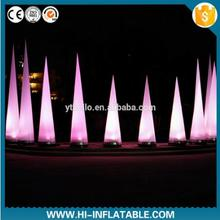 Stage decoration wedding inflatable pillar for sale