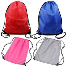 Light Swim School Dance Shoe Boot PE Nylon Drawstring Bag Liberty Bags Tote Backpack Sport Pack Random Color [ 1 pc ]
