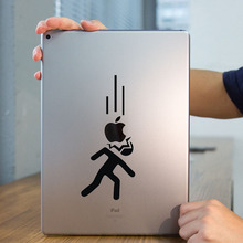 "Funny Humor Stick Man Tablet PC Laptop Decal Sticker for iPad 1/2/3/4/Air/mini/Pro 7.9"" / 9.7"" / 12.9"" Notebook Sticker Skin"