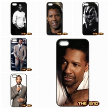 The Dashing Denzel Washington top actors Phone Cases Capa For iPhone 4 4S 5 5C SE 6 6S 7 Plus Galaxy J5 A5 A3 S5 S7 S6 Edge