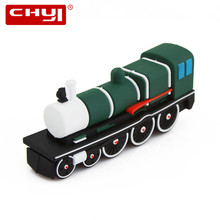 USB Flash Drive Pen Drive Cartoon Mini Train Memoria USB Stick 4gb 8gb 16gb 32gb 64gb PenDrive Kid Gift USB 2.0 Flash Drive Disk(China)