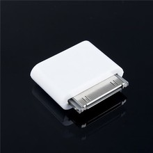 10pcs/lot Micro USB Data Sync Charge V8 TO 30 PIN Convertor Cable Charger Adapter For iPhone 4 4S ipad 2 3 ipod touch