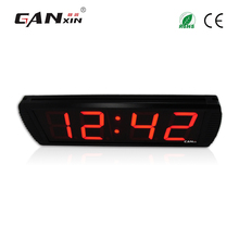 [Ganxin]Low Price 4'' Programmable Digital Remote Control China Led Clock Wholesaler