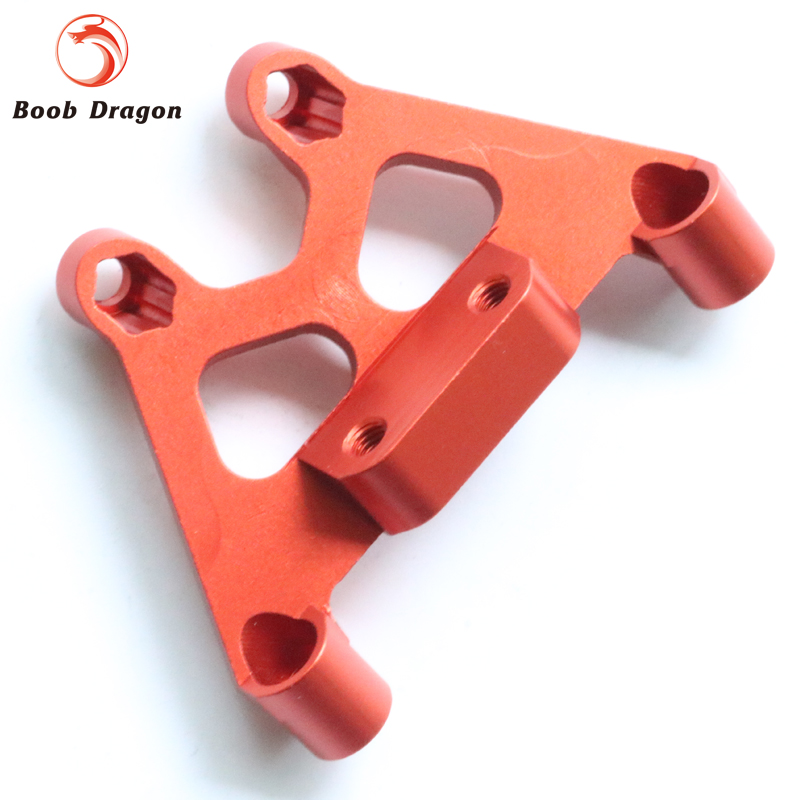 Baja CNC Alloy front shock tower support for 1/5 HPI baja 5b 5t 5sc Rovan King Motor<br>