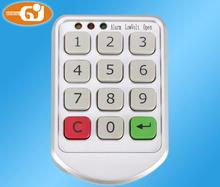 Electronic password keypad locker digital cabinet lock for office hotel home swimming pool(China)