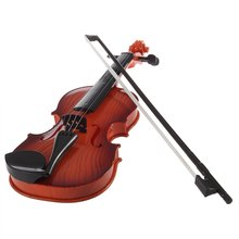 New Fashion and Educational Children Super Cute Mini Music Electronic Violin GIFT for Kids BOY GIRL Toy Room Living Room(China)