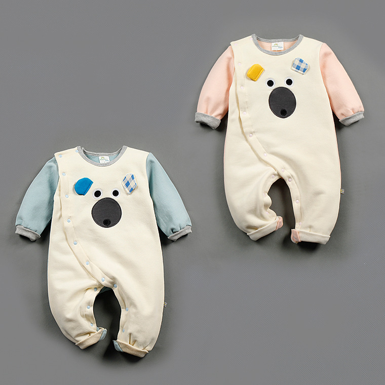 2017 new baby rompers newborn barboteuse baby animal costumes baby boy girl clothes baby pajamas spring cotton 0-18 months<br><br>Aliexpress