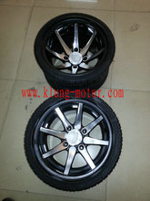 235 30R12 tire and rim for on road kart , FSAE,buggy ,go kart ,offroad buggy ,dune buggy(China)