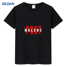 Printed Round Neck Tee Shirt 2017 Goflex Album Go Flex Post Malone Funny T Shirt For Men Homme Dark Blue Round Neck T-Shirt(China)