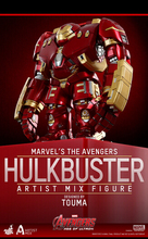 Manufacturer 30pcs avengers Hulk Buster MK Inor Man action pvc figure toy tall 17cm in box via EMS.
