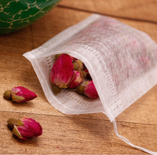 New PLA biodegraded Tea Bag Filters Ultrasonic Corn Fiber Cords tea bags coffee filter 100pcs/lot Multiple sizes