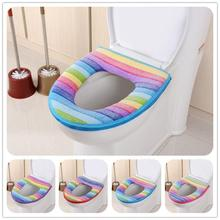 SP 23 Mosunx Business 2016 Hot Selling  Bathroom Toilet Seat Closestool Washable Soft Warmer Mat Cover Pad Cushion