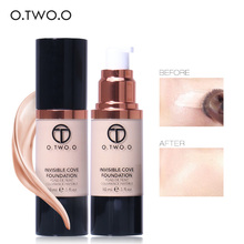 O.TWO.O Make Up Fluid Foundation Moisturizer Concealer Whitening Oilcontrol Waterproof Liquid Foundation Base Make Up(China)