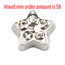 Buy 2016 Hot Sale popular trendy jewelry 10pcs Star floating charms living glass lockets,N-128 for $1.38 in AliExpress store