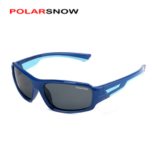 POLARSNOW Unbreakable TR90 Kids Sunglasses Polarized Girls Boys Goggle Ourdoor Sun Glasses Top Quality Children UV400 Eyewear(China)