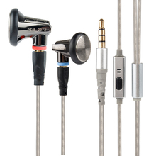 New SENFER PT15 Earburd Graphite bush Dynamic Driver In Ear Earphone HIFI Earplhone With MMCX Interface(China)