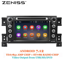 ZENISS 2Din Android 7.12 Car DVD Player for SUZUKI Grand Vitara Radio Navigation Vitara Android GPS Car Stereo