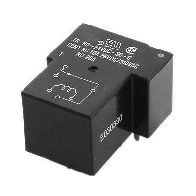 PCB Mount Plug in Type SPDT 6 Terminals Electromagnetic Relay DC24V<br><br>Aliexpress