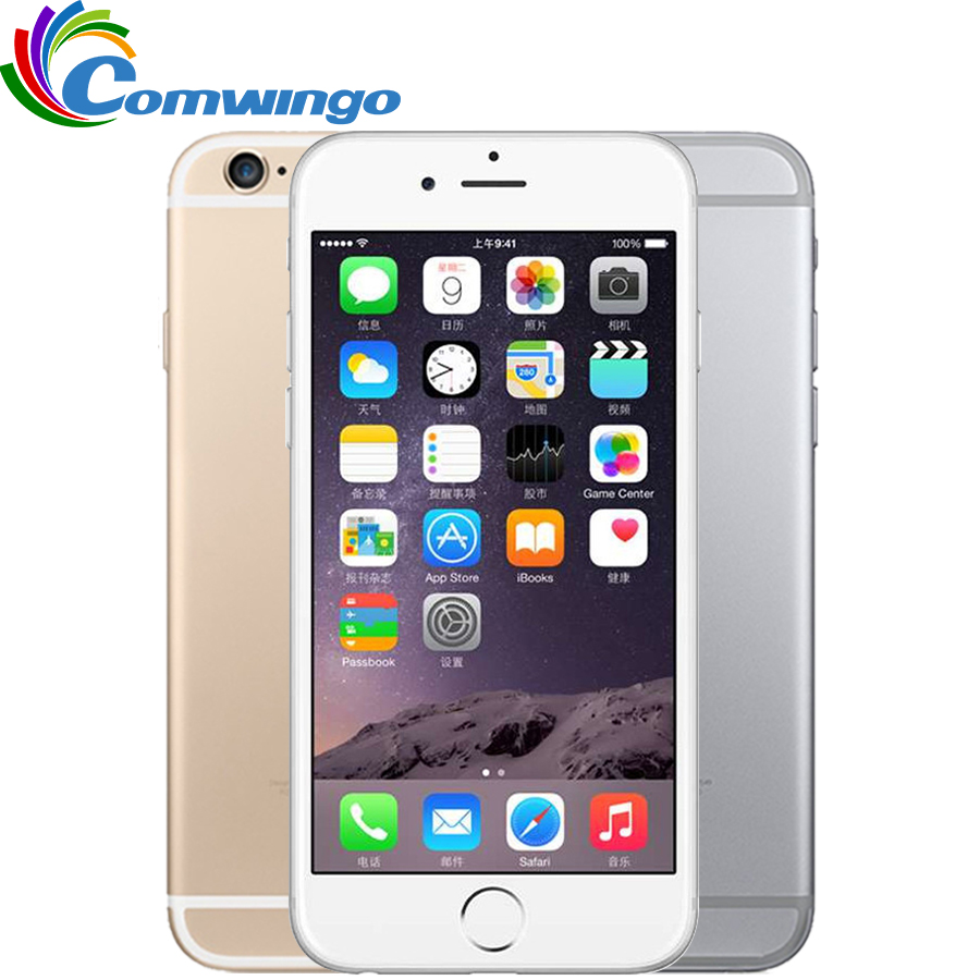 Unlocked Apple iPhone 6 Cell Phones 1GB RAM 16/64/128GB ROM 4.7'IPS GSM WCDMA 4G LTE mobile phone iPhone6 Used Mobile Phone(China (Mainland))