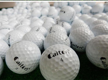 Original Brand Caiton 3 layer Golf Ball Professional Game Ball Golf Practice Training Balls 12pcs/Box(China)