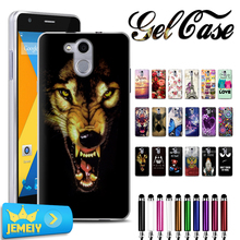 Umi London Rome X Homtom HT3 HT7 pro Elephone P9000 M2 Doogee X5 max pro Printed Soft TPU Silicone Case For Fly Fs507 cirrus 4(China)