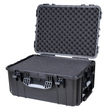 Shockproof waterproof hard plastic storage case with full foam(China)