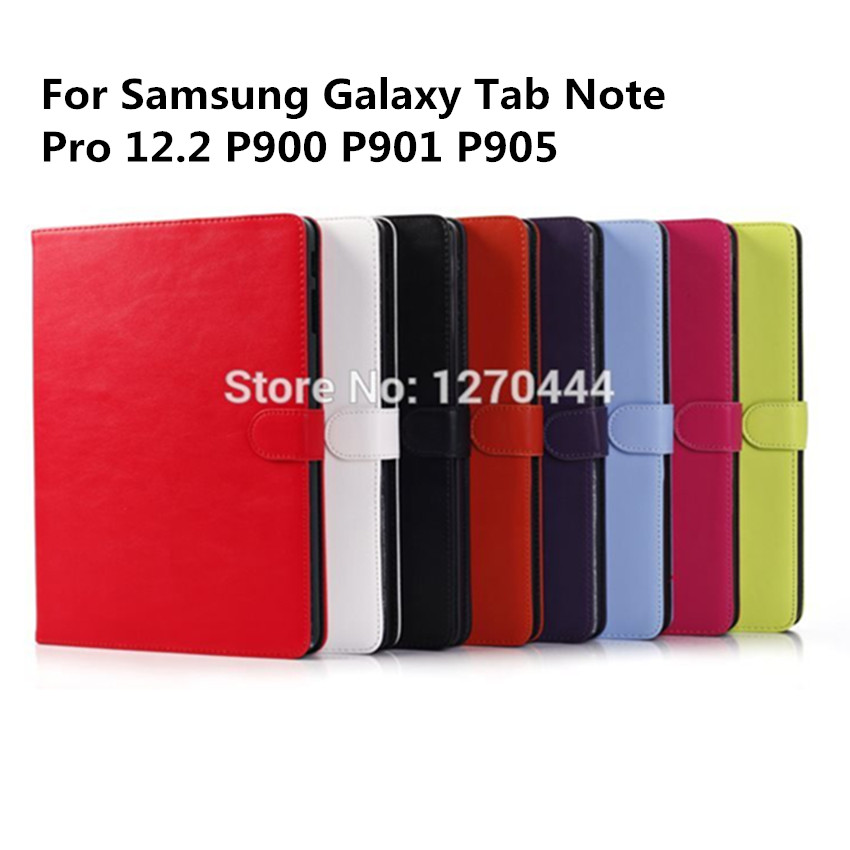 High quality Pu Leather Case Smart Cover capa para For Samsung Galaxy Tab Note Pro 12.2 P900 P901 P905 case+pen as a gift<br><br>Aliexpress