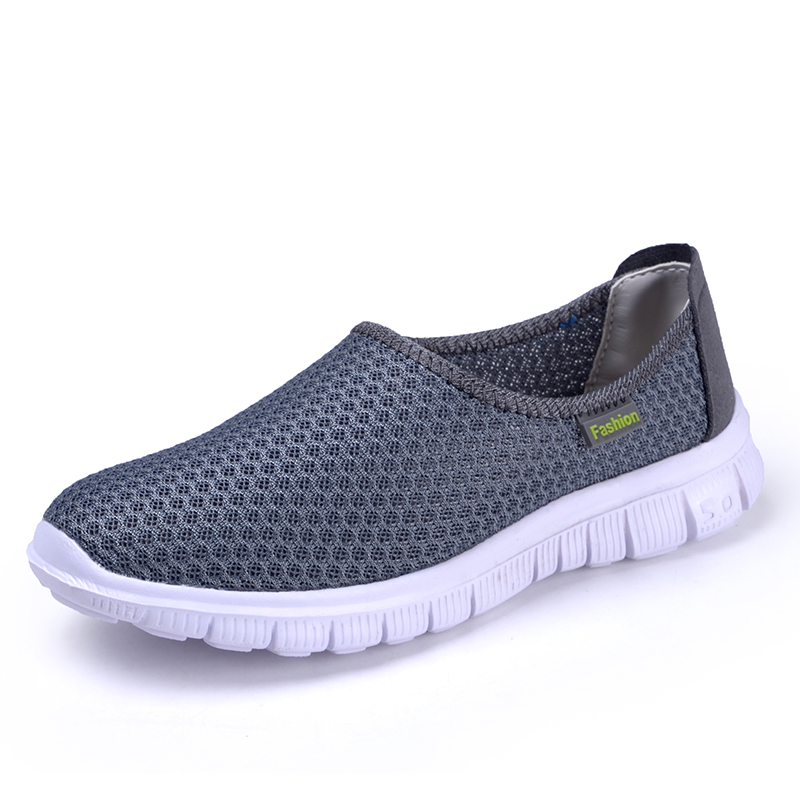 Air Mesh Women Shoes Summer Breathable Ladies Casual Loafers Shoes Outdoor Walking Zapatos Mujer Zapatillas Massage Slip-on<br><br>Aliexpress