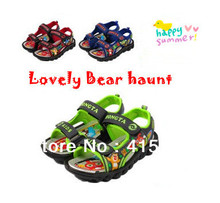 2016 New Hot Kid's Sandals Children Girls & Boys Summer Bear Haunt Lovely Sandals 3 Colors F167(China)