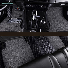 ZHAOYANHUA Car floor mats for Mercedes Benz X204 X205 GLK GLC class 200 220 250 300 320 350 43 AMG 5D car-styling carpet liners(China)