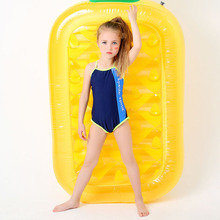 2017 One Piece Children Swimsuits Girls Professional Swimwear Bathing Suit Kids Beachwear Child Swim Wear Suit S M L XL XXL XXXL