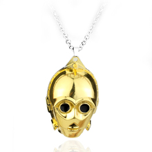 Star War Necklace Women men Hip hot Necklace Long chain Necklace Movie Jewellery