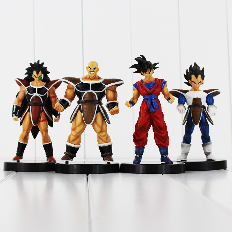 Dragon Ball Z Figure Toy Son Goku Vegata Nappa Raditz dragonball PVC Figure Cool Model for Collection with base Free Shipping<br><br>Aliexpress