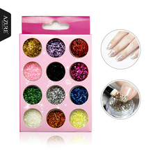 Nail Art Decorations Acrylic Glitters Powders For UV Nail Gel Polish Nail Tips Beauty Accessories.