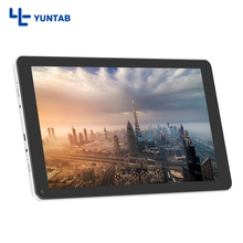 Hot Sale!! YUNTAB 2 colors 10.1 Inch D102 Android 6.0 Tablet PC Quad Core with Dual Camera 5500mAh Battery