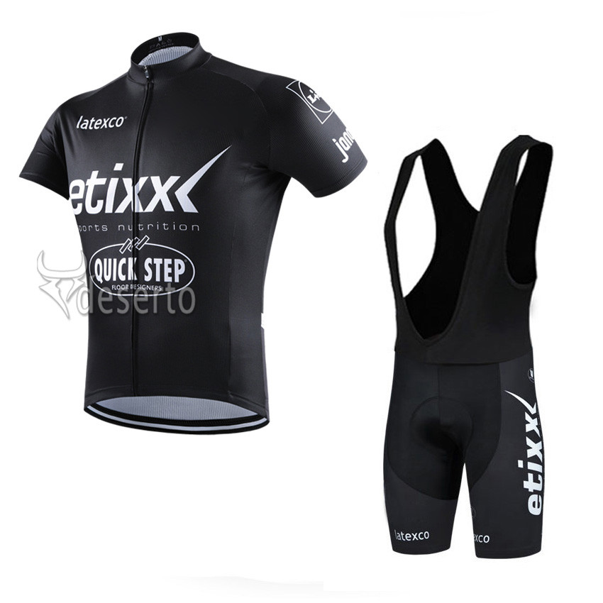 2016 etixx quick step Pro Team maillot Ropa Ciclismo Short Sleeve Cycling Jersey Bike Bicycle Clothing Sportwear Set Bib shorts<br><br>Aliexpress