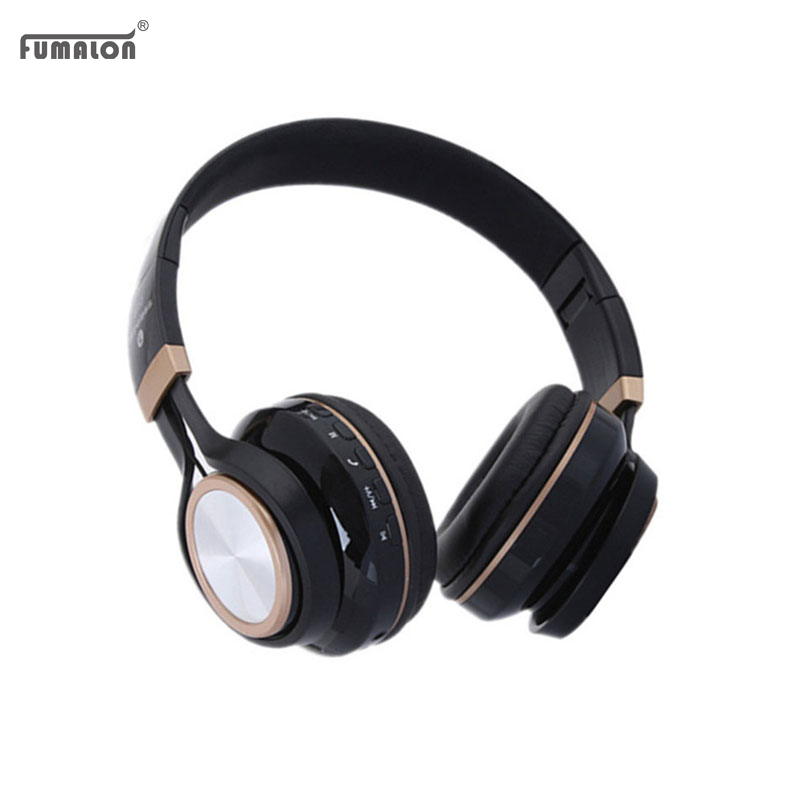 Fumalon New Wireless Headsets Support Memory Card FM Radio Mp3 Headphone Bluetooth Headphones with Mic For Xiaomi iPhone Android<br><br>Aliexpress