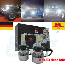 SPEVERT LAMPARA H7 110W 20000LM LED Auto Car Scheinwerfer Headlights Lampen Licht 6000K light LUZ GERMANY IN STOCK