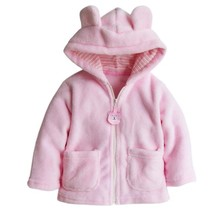 Winter Animal baby shapes baby fleece baby clothes white / pink / brown baby coat pajamas newborn plush costume overalls coat()