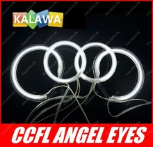 a set CCFL Angel Eyes case for Toyota camry projector (2003-2006)  Halo Ring Halo Light cathode tube headlight GGG
