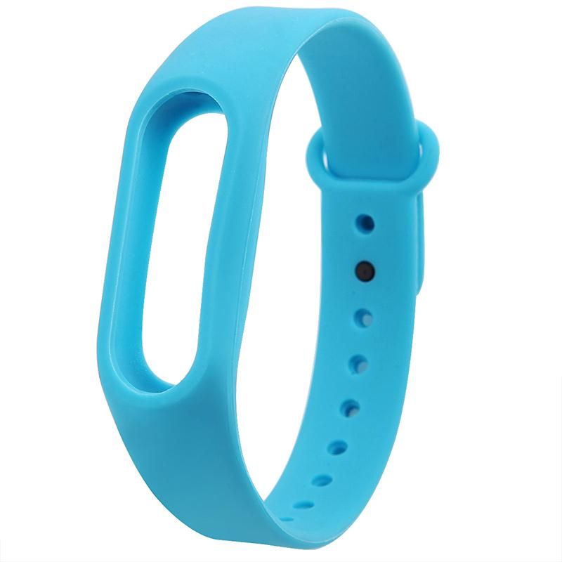 Amzdeal Colorful High Quality TPU Wrist Band Strap Smartband Replacement TPU for Xiaomi Mi 2 Smart Watch Bracelet Accessories