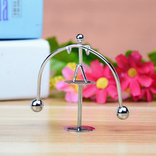 Trumpet weightlifting swing small iron man balance ball creative home desktop decoration new peculiar birthday party gift(China)