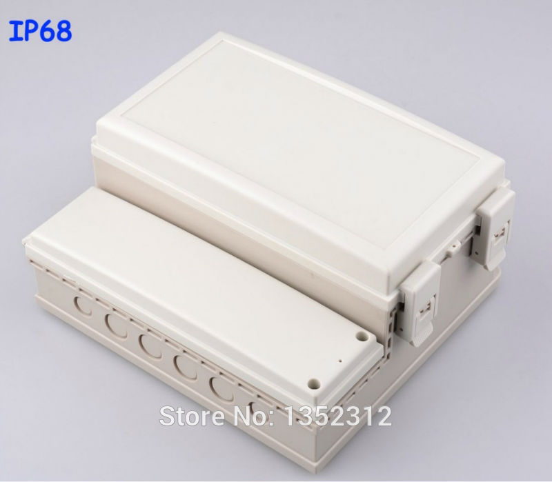 228*206*113mm IP68 waterproof plastic box for electronic housing DIY project box sealed control box PLC instrument junction box<br>