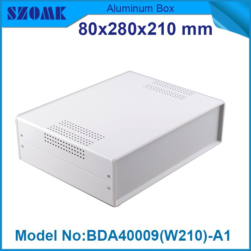 4 pcs/lot device box abs black plastic project box  electrical box electrical case 79x279x210 mm<br>