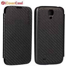 Cover for Samsung S4 Case Ultrathin Carbon Fiber Battery Back Skin Coque Shell for Samsung Galaxy S4 i9500 i9505 Capa Funda Etui
