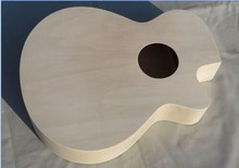 Unfinished New Beginners Acoustic Guitar body